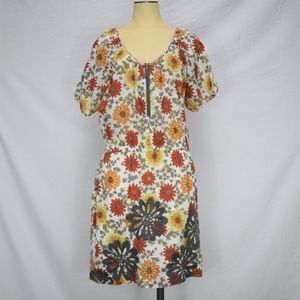 Uncle Frank | Floral Short Sleeve Dolman Dress S